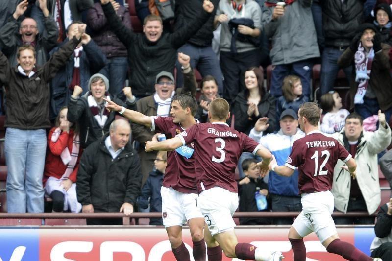 """""""Hearts"""" sirgalius nudžiugino dar viena pergale Škotijos čempionate"""