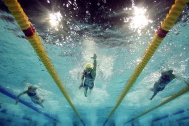 Plaukikai V.Janušaitis ir G.Titenis - tarp geriausiųjų Europoje