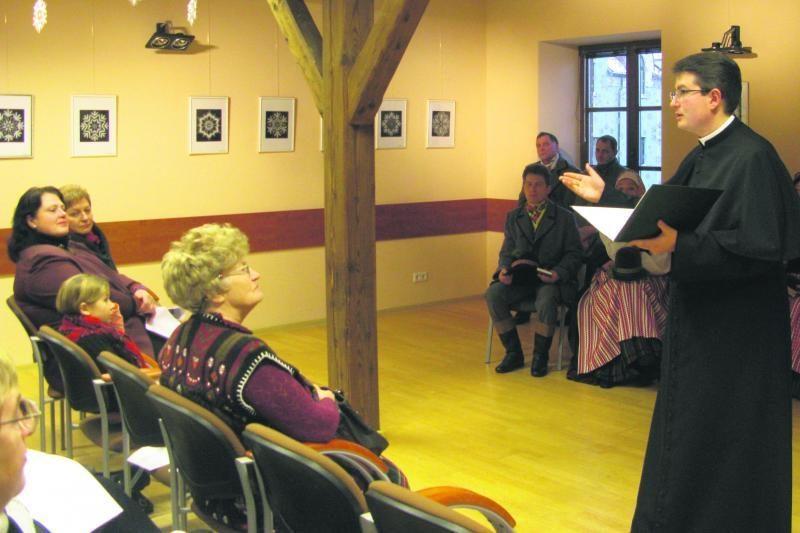 Klaipėdos etnokultūros centre bus giedamos šermenų giesmės