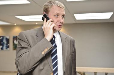 Parlamentaras A.Šedžius išbrauktas iš Socialdemokratų partijos sąrašų