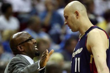 """""""Cavaliers"""" treneris: Ž.Ilgauskas žais"""