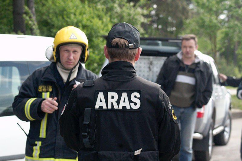 Vilniuje į biurą įmestas sprogmuo