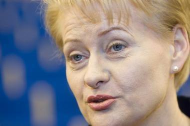 D.Grybauskaitė nevyks į Maskvą minėti Gegužės 9-osios