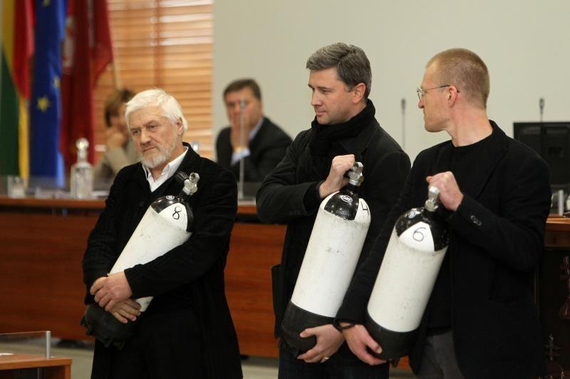 Aktoriai įpūtė gaivaus oro Vilniaus tarybai (papildyta 16.28)