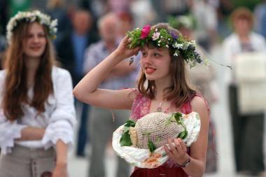 Rasos šventė bus švenčiama ir Verkių rūmų parke