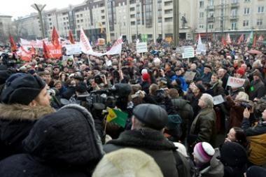 Prieš teismą stos tik riaušių prie Seimo dalyviai
