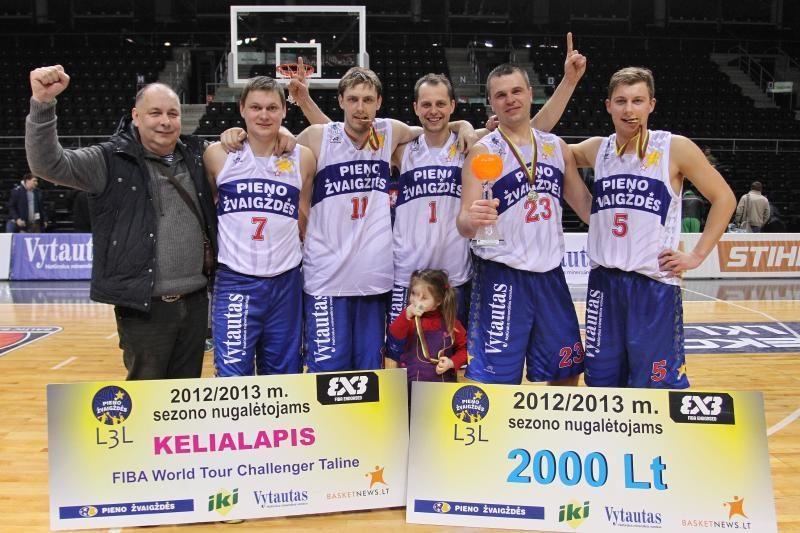 Pirmaisiais Lietuvos 3x3 lygos čempionais tapo šiauliečiai