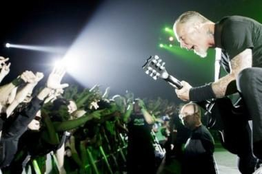 """Pavasarį Vilniuje koncertuos """"Metallica"""""""