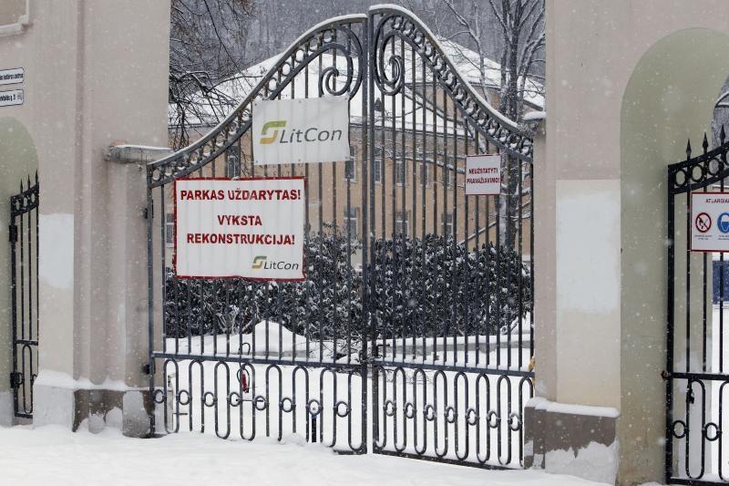 Teismas iš A. Zuoko verslo atėmė žemę Sereikiškių parke