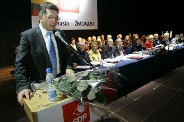 Socialdemokratų lyderiui administracinė byla nutraukta