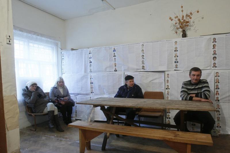 Odesoje vienas rinkėjas pusryčiams suvalgė savo rinkimų biuletenius