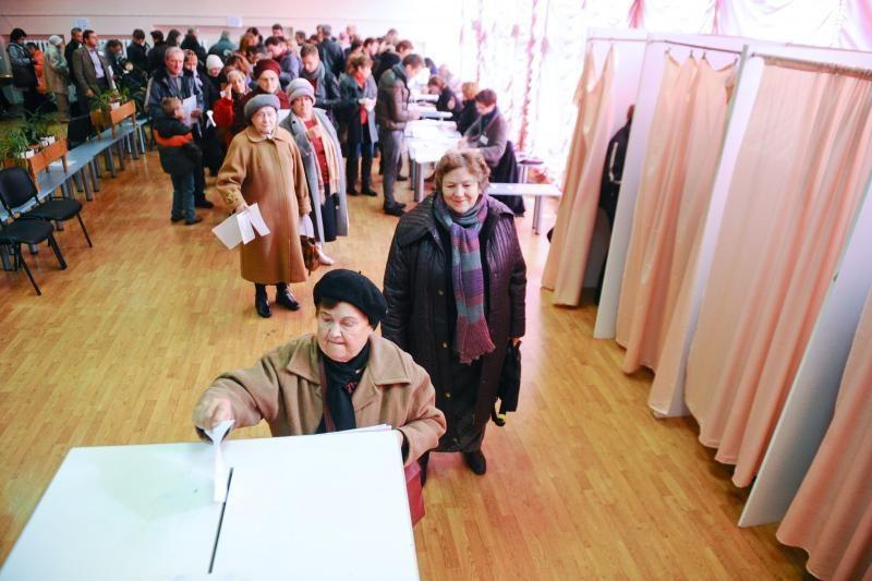 Tris Seimo narius rinks per 100 tūkst. rinkėjų