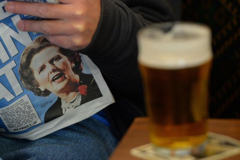 Britanija metė akibrokštą Argentinai dėl M. Thatcher laidotuvių
