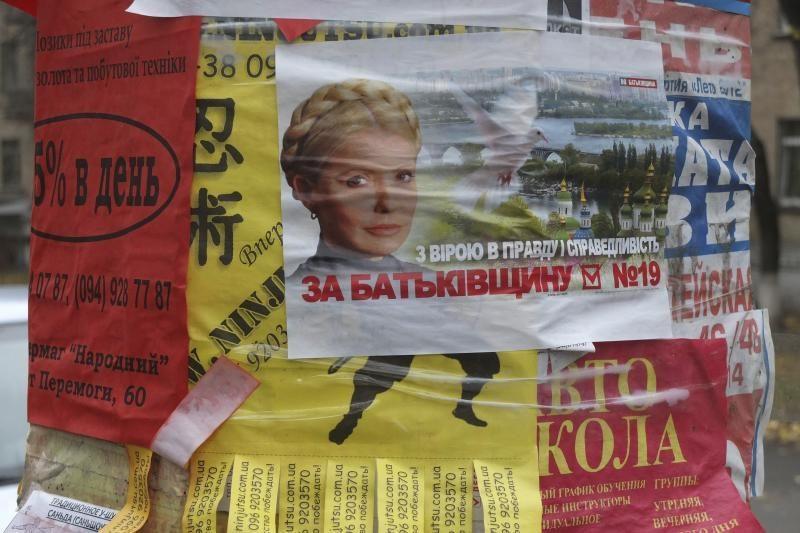 Ukrainos opozicijos lyderė J. Tymošenko balsuos ligoninėje (papildyta)