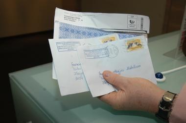 Panevėžio rajono gyventojai laiškininkų nesulaukia