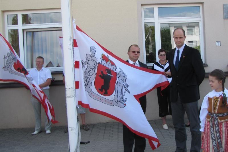 Suplevėsavo Žemaitijos vėliavos
