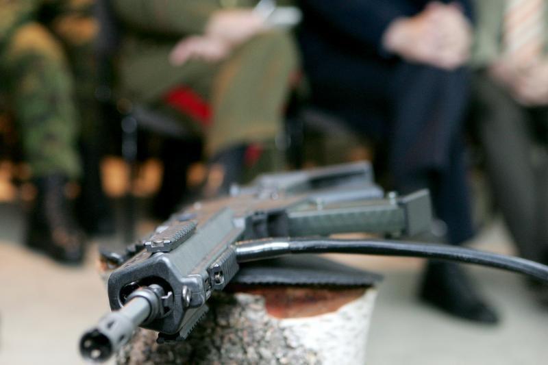Ukmergės rajone rasta šaunamųjų ginklų