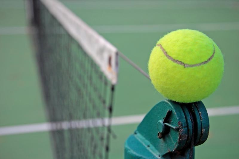 Teniso čempionato vienetų aštuntfinalyje - kinė, čekė bei ispanas