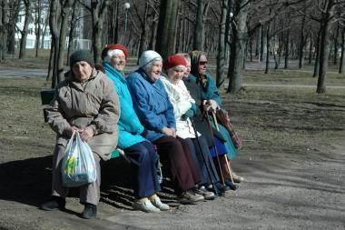 Pensijų sumažinimas Latvijoje prieštarauja konstitucijai