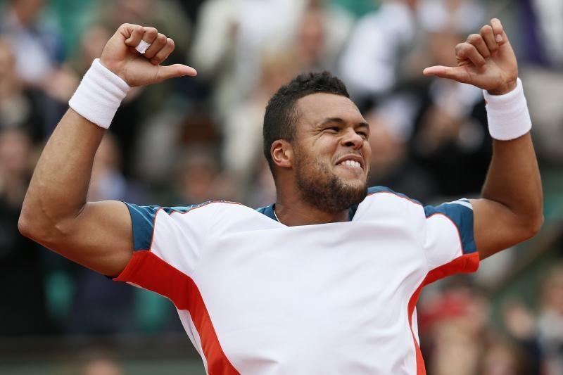 Prancūzijos teniso čempionate paaiškėjo dar 4 ketvirtfinalio dalyviai