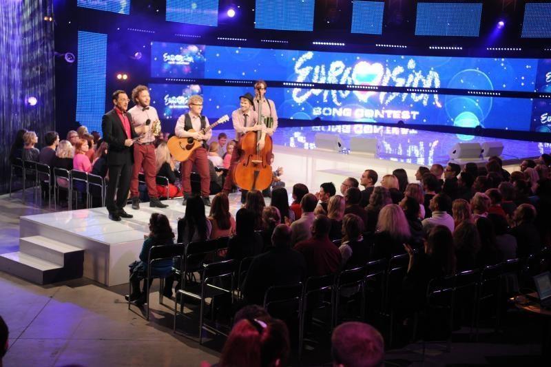 """Atskleisti dar trys """"Eurovizijos"""" atrankos pusfinalininkai"""