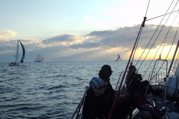 """""""The Tall Ships Races"""": jachta """"Lietuva"""" savo klasėje finišavo trečia"""