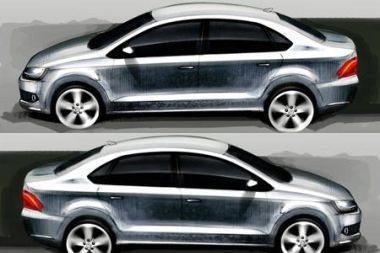 """Rusijos rinkai – """"VW Polo"""" sedanas"""