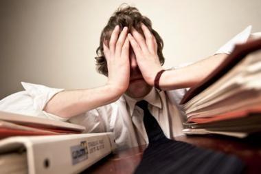 Europos galvos skausmas – nedarbas