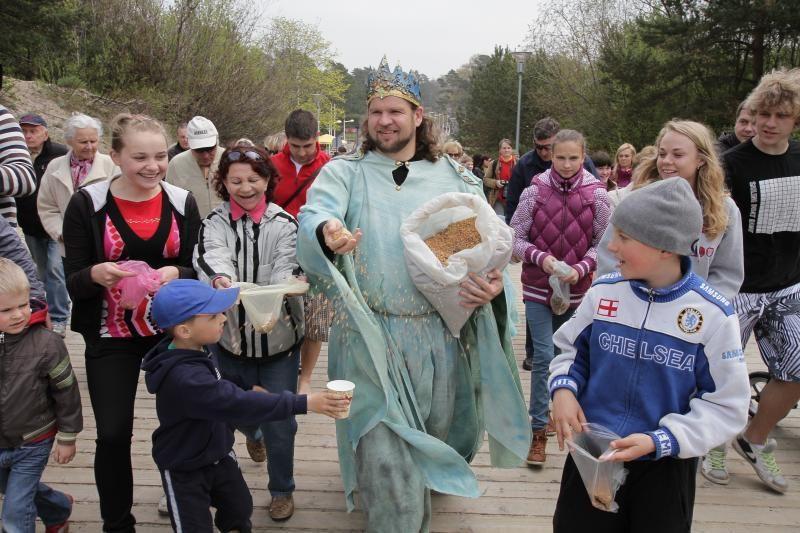 Šeštadienį Palangoje – pirmasis Lietuvos gintaro rinkimo čempionatas