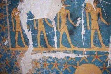 Senovinė kapavietė Egipte – su astrologinėmis freskomis