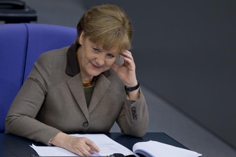 A. Merkel: tik aš galiu vadovauti Vokietijai