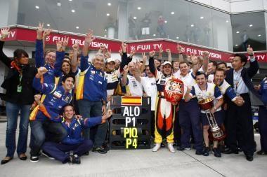 """F.Alonso ir N.Piquet lieka """"ING Renault"""