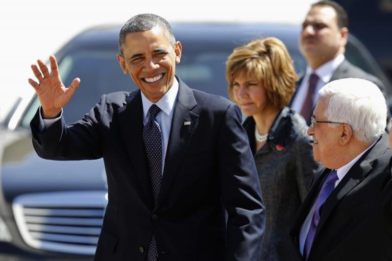 Į Vakarų Krantą atvykęs B.Obama susidurs su palestiniečių nerimu