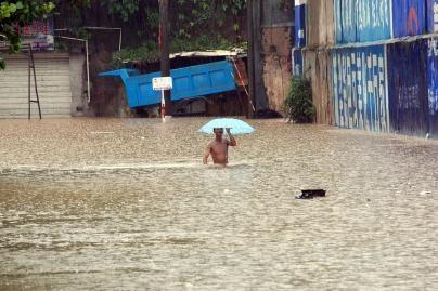 Kiniją siaubia potvyniai
