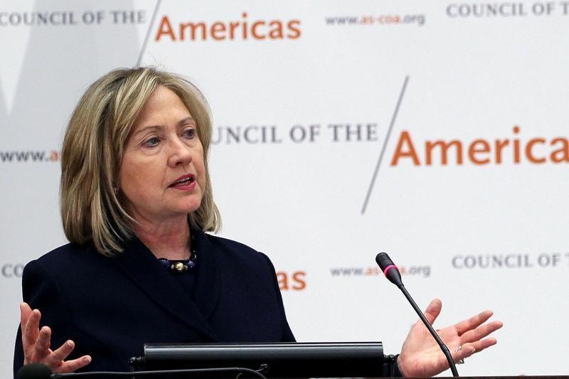 Septyni kongresmenai ragina H.Clinton atšaukti paramą Baltarusijos AE, paremti Baltijos šalis