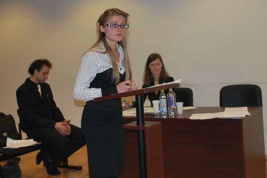 Teismo inscenizacijos varžybas laimėjo Vilniaus universiteto teisininkai