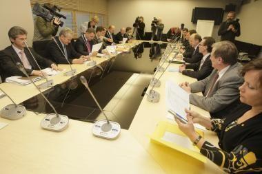 Derybos baigtos, sutartis dar nepasirašyta