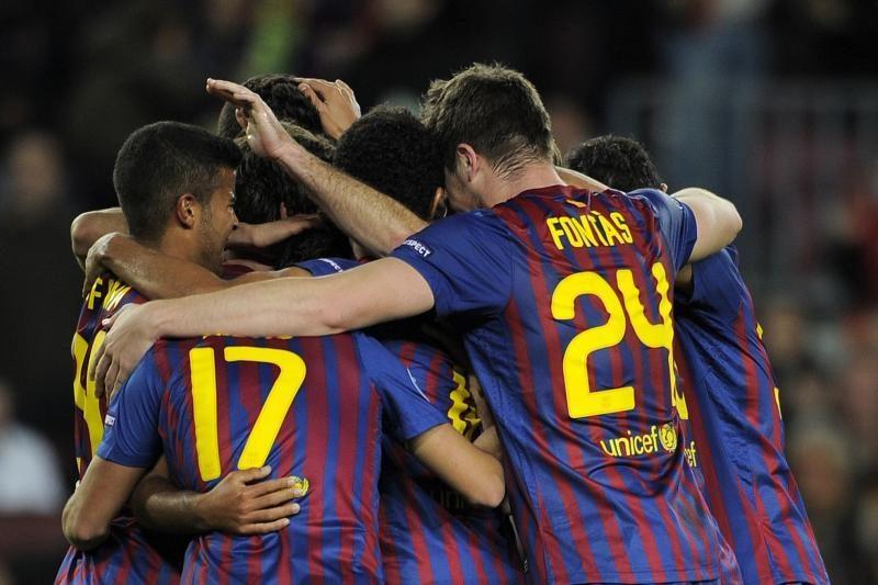 """""""Barcelona"""" lengvai pateko į Ispanijos futbolo taurės aštuntfinalį"""