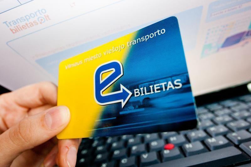 Išleidus 33,87 mln. litų, el. bilieto projektas – neįgyvendintas