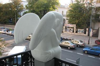 Vilniaus angelas nusileis ir Stokholme
