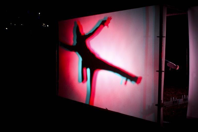 Pilaitę apšvietė menininkų instaliacijos