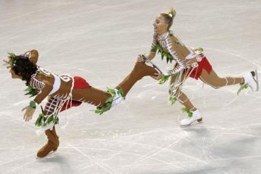 Dailiojo čiuožimo šokėjų iš Rusijos šokis įžeidė aborigenus