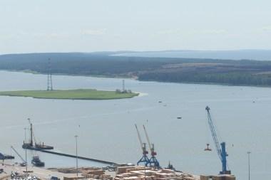 Dujų terminalo vieta Kiaulės nugara - neįteisinta kaip sala