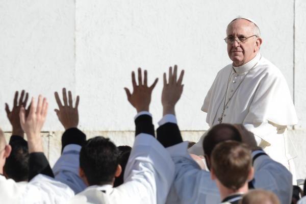 Popiežius paskyrė pranciškonų ordino vadovą į aukštą postą
