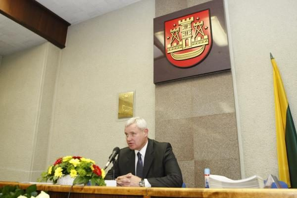 Kiek kainavo Klaipėdos mero kėdė?
