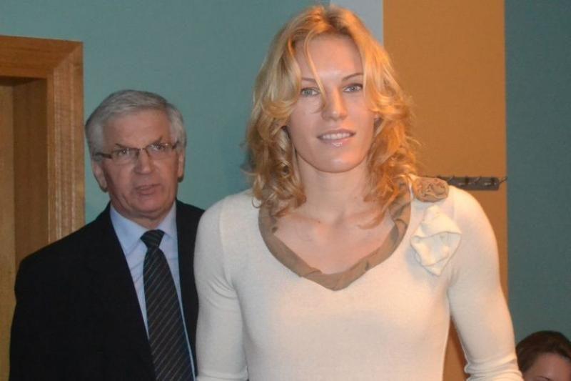 Geriausios 2012 m. LSU sportininkės laurai - A. Skujytei
