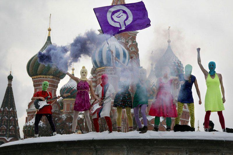 """Rusijos pankroko grupė """"Pussy Riot"""" nominuota A.Sacharovo premijai"""