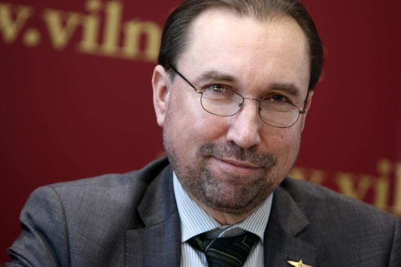 Vilniaus Kultūros paveldo departamentui vadovaus V.Karčiauskas