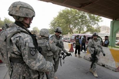 Irake liko mažiau nei 50 tūkst. amerikiečių karių