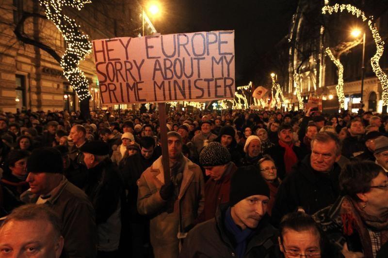 Europos parlamentarai tirs Vengrijos teisės aktus